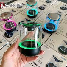 Loa Bluetooth Mini Led 7 Màu Trong Suốt Yayusi C7, Âm Hay Bass Cực Đỉnh Pin  600mAh, Bảo Hành 1 Đôi 1 - Loa Bluetooth