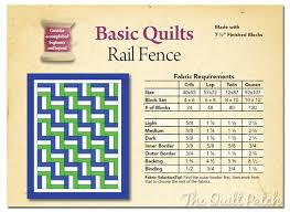 Basic Quilts - Rail Fence - The Quilt Patch & 0 Comments Adamdwight.com