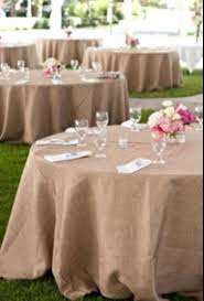 great burlap tablecloths hessian ships 1 day round or square with the pertaining to round burlap tablecloths plan