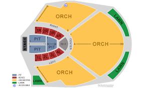 Verizon Wireless Amphitheatre Seating Chart Atlanta 75 Circumstantial Chastain Park Amphitheatre Seating View
