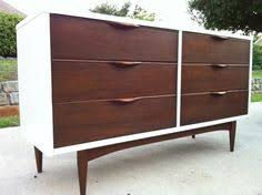 painted mid century furnitureBefore and After  Credenza High gloss and Drawers