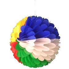 Crepe Paper Flower Balls Paper Ball Decorations How To Make Crepe Paper Decorations