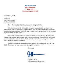 Wrongful Termination Letter To Employer Major Magdalene