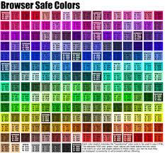 255 Color Chart 52 Abundant Html Hexadecimal Color Chart