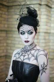 gothic look for vire makeup ideas via