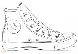 Jordan Shoes Coloring Pages Dapmalaysiainfo