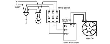 rhl mole internal bathroom fan mole fan wiring diagram