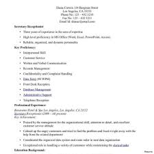 Veterinary Resume Samples Cover Letter Veterinary Receptionist Entry Level Office Assistant 99