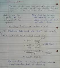a2 proving identities using reciprocal trigonometric functions part 2