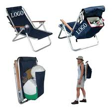 folding beach chair chairs target backpack