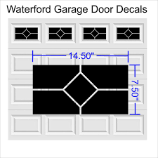 Faux Garage Door Hardware Carriage Craftsman Garage Door Hardware Vinyl Decals Ver 3