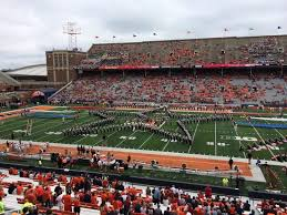 Illini Stadium Seat Chart View From Section 129 Row 7 Seat 27 Picture Of Memorial