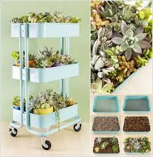 Cool and Creative Recycled Furniture Planter Ideas 5