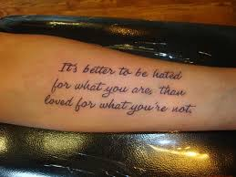 40 Best Life Quotes Tattoo Pictures Interesting Best Tattoo Quotes About Life