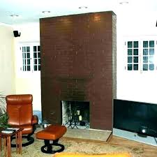 painting red brick fireplace living room with paint colors color pictures of fireplaces painted white