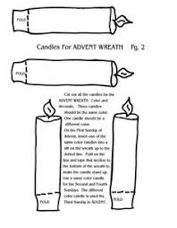Small Picture Advent Wreath Drawing images ChristmasAdvent Pinterest
