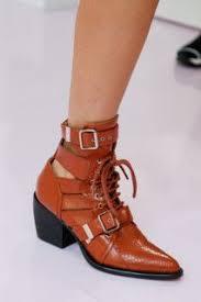 <b>Chloé</b> | Обувь | <b>Полусапожки</b>, Модные стили и Кожаные ботильоны