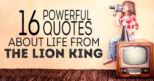 Powerful Quotes About Life Delectable 48 Powerful Quotes About Life From The Lion King ChristianQuotes