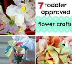 Paper Flower Crafts For Kindergarten 7 Super Simple Flower Crafts For Toddlers Disney Baby