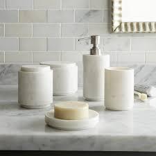 Bathroom Accessories Decoration Ideas White Marble Bathroom Accessories Slate Grey