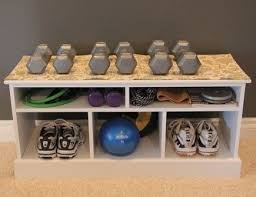 gym equipment storage storageideas workout room ideas q17 storage