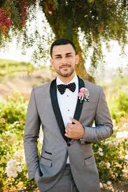 elegant detail oriented wedding purple bow tie groom style and this elegantly detail oriented wedding has all sorts of memorable handmade touches