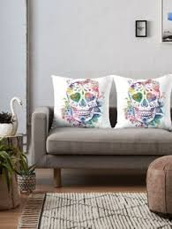 home office mexico. Sugar Skull #sugarskull #dayofthedead #art #print #throw #pillow #home Home Office Mexico
