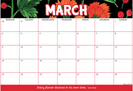 Month Of March Calendar 2020 2020 Calendar Free Printable Get Ready For A Fabulous 2020