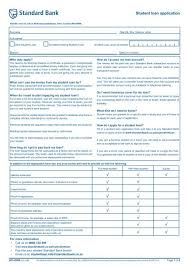 Student Loan Application Stenden South Africa