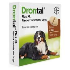 Drontal Feline Dosage Chart Drontal Plus Xl Tablets For Dogs Sold Individually Nfa Vps