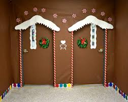 Ideas using gingerbread christmas home decorations Cabin Twin Ginger Bread House Christmas Door Craftionary Craftionary