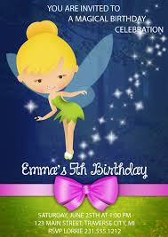 Tinkerbell Invitation Tinkerbell Invitation Tinkerbell Birthday Invitations Fairy Tinkerbell Invites Sold By Announce It