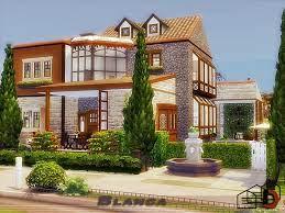 Danuta720's Blanca. | Sims house, Sims 4 houses, House styles
