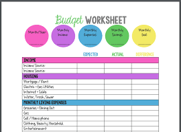 Printable Budgeting Sheets 11 Best Budget Templates Tools Spreadsheets Pdfs