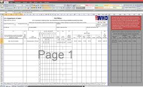 Certified Payroll Template Excel