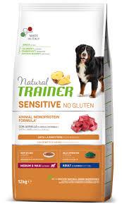 Сухой <b>корм для собак TRAINER</b> Natural Sensitive Medium & Maxi ...