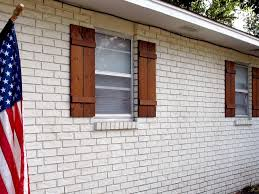 can you stain brick maxwell shutters 3 can you stain brick floors can you stain brick