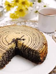 Spesialnya kelezatan prunes roll cake. Resep Kue Zebra Resepkoki Co