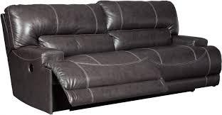 reclining sofas. Exellent Reclining McCaskill Gray 2 Seat Reclining Sofa To Sofas