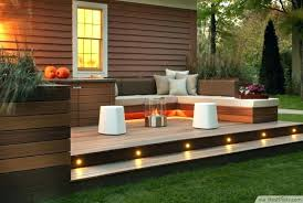 deck stair lighting ideas. Outside Deck Lights Backyard And Patios Great Lighting Ideas For Cool Outdoor Patio Design Stair