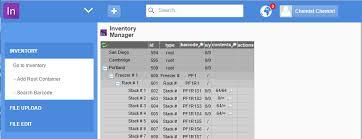 Inventory Dotmatics
