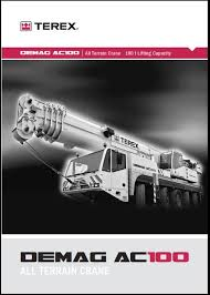 Terex Demag Ac 100 Cranes For Sale Chart The 100