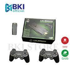 Máy Chơi Game 4 Nút HDMI Không Dây Hơn 3000 Trò Chơi, Máy Chơi Game Cổ Điển  ATARI/PS1/FC/GBA/SFC - Video games