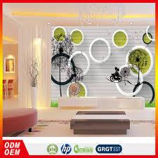 Fancy Muur Papier Hotels Behang 3d Aangepaste Wanddecoratie