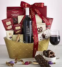 iva cabernet wine valentine basket
