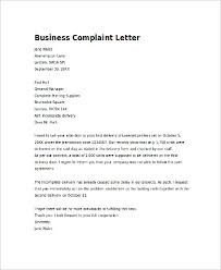 complaint letter example samples in word pdf example patient complaint letter