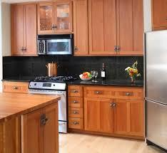kitchen backsplash cherry cabinets black counter. 53 Most Usual Backsplash Ideas For Black Granite Countertops And Cherry Cabinets Digital Kitchen Counter S