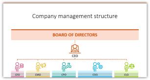 Cfo Organizational Chart Organizational Chart Coo Cfo Cmo Icons Ppt Blog Creative