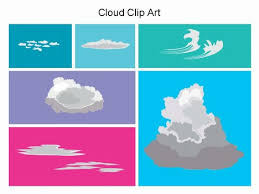 Types Of Clouds Ppt Cloud Clip Art