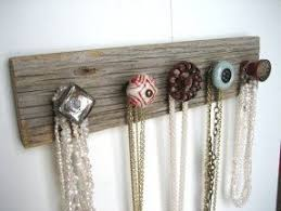 Jewelry box with necklace hooks 25